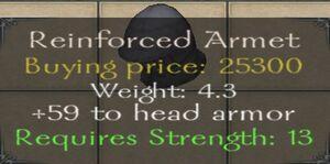 Reinforced Armet
