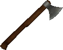 Carpenter Axe (With Fire & Sword)