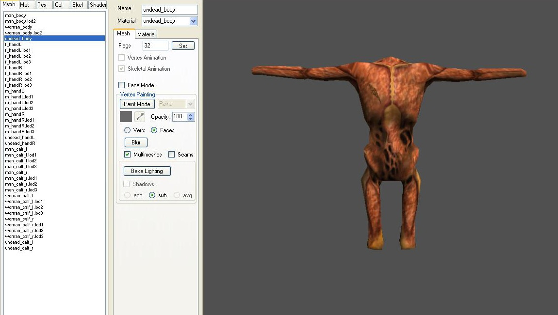 Mount and blade weapon meshes e brf download