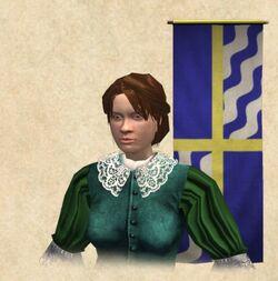 Former Queen Christina