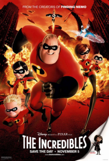 The Incredibles Poster 10 - Battle