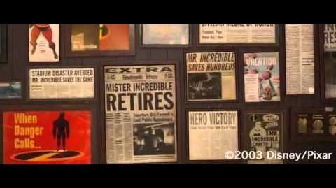 The Incredibles 2004 - Teaser Trailer