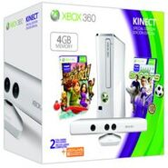 White xbox 360 packaging