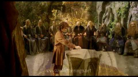 Lord of the Rings Fellowship of the ring trailer