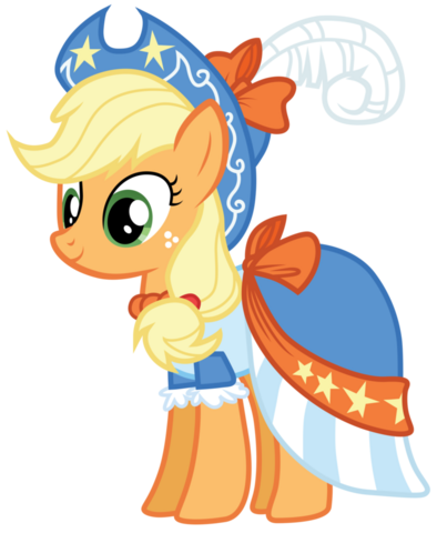 File:Applejack s coronation dress by bethiebo-d5vqneu.png