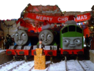 Gordon, The Fat Controller, Henry, and BoCo
