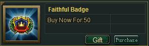 Faith Badge