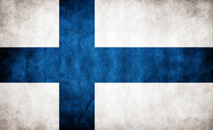 File:Finland Grungy Flag by think0.jpg