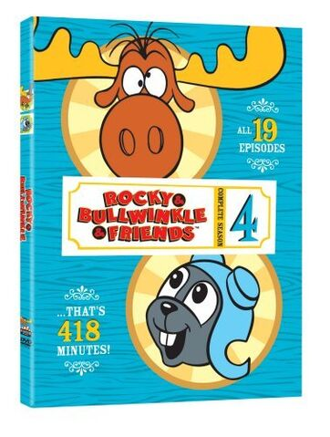 File:Rocky and Bullwinkle And Friends Season 4 DVD.jpg
