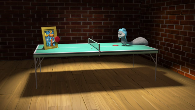 File:Rocky The Flying Squirrel can't play ping pong without Bullwinkle The Moose.png