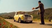 Mini Cooper en Las Vacaciones de Mr. Bean (2007)