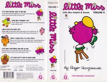Little miss helpful and friends VHS