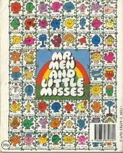 Mr Men Own Stories Back Cover
