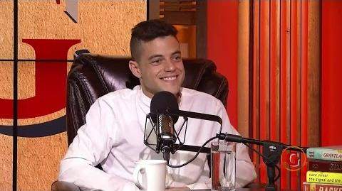 Rami Malek's Podcast interview with Andy Greenwald