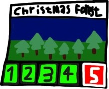 Christmas Forest Art