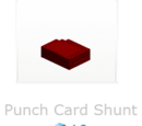 Punch Card Shunt