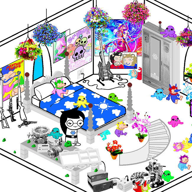 Dave S Room Homestuck