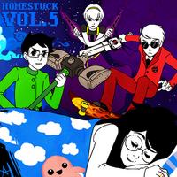 Homestuck Vol 5 Album cover.png