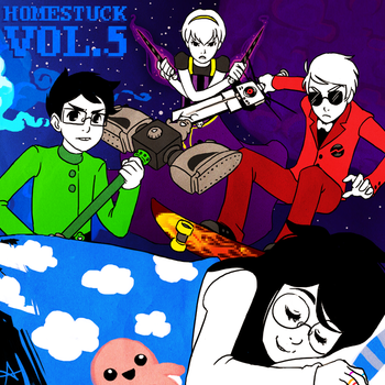 File:Homestuck Vol 5 Album cover.png