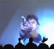 MST3k- stunt actress Melissa A. Acosta in Future War