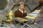 MST3k- Joel's Xylophone chair invention exchange in Fugitive Alien