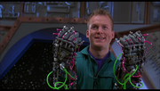 MST3k The Movie- Mike controls the SOL with his robotic arms