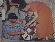 MST3k Prop Master Helena Espinosa and Prop Builder Dean Trisko