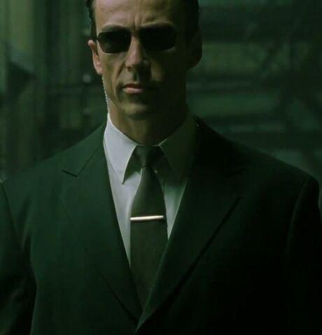 File:Daniel Bernhardt in RiffTrax's Matrix Reloaded as Agent Johnson.jpg