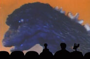 MST3k- Shinji Takagi appearing as Godzilla in Godzilla Vs. Megalon