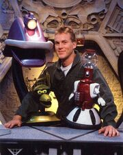 MST3k- Mike and the SOL bots together (earlier seasons)