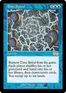 Time Spiral Urza's Saga