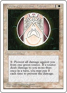 Circle of Protection Green 4E