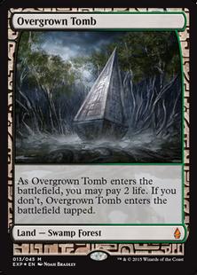 Overgrown Tomb EXP