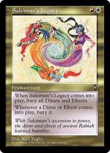 Suleiman's Legacy VI