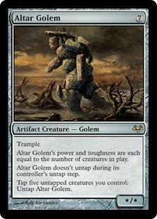 Altar Golem EVE
