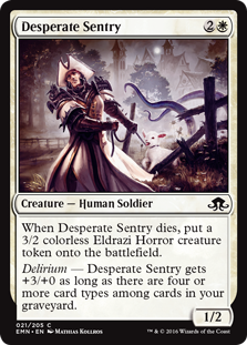 Desperate Sentry EMN