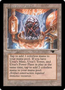 Urza's Power Plant AQ