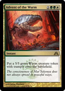 Advent of the Wurm DGM