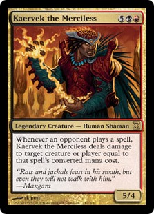 Kaervek the Merciless TSP