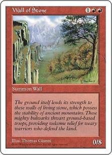 Wall of Stone 5E