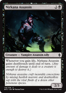 Nirkana Assassin BFZ