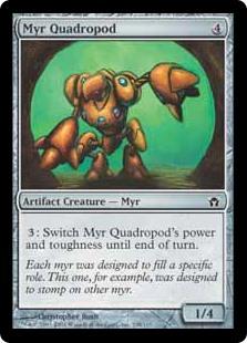 Myr Quadropod 5DN