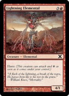 Lightning Elemental 10E
