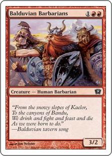 Balduvian Barbarians 9ED