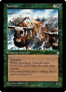 Aurochs IA