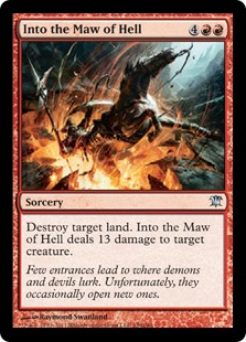 Into the Maw of Hell ISD