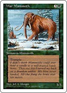 War Mammoth 4E