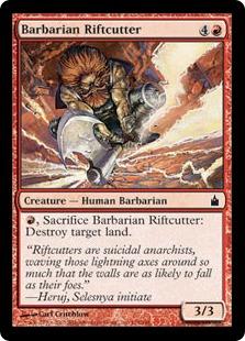 Barbarian Riftcutter RAV