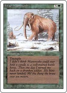 War Mammoth 3E