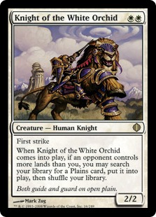 Knight of the White Orchid ALA